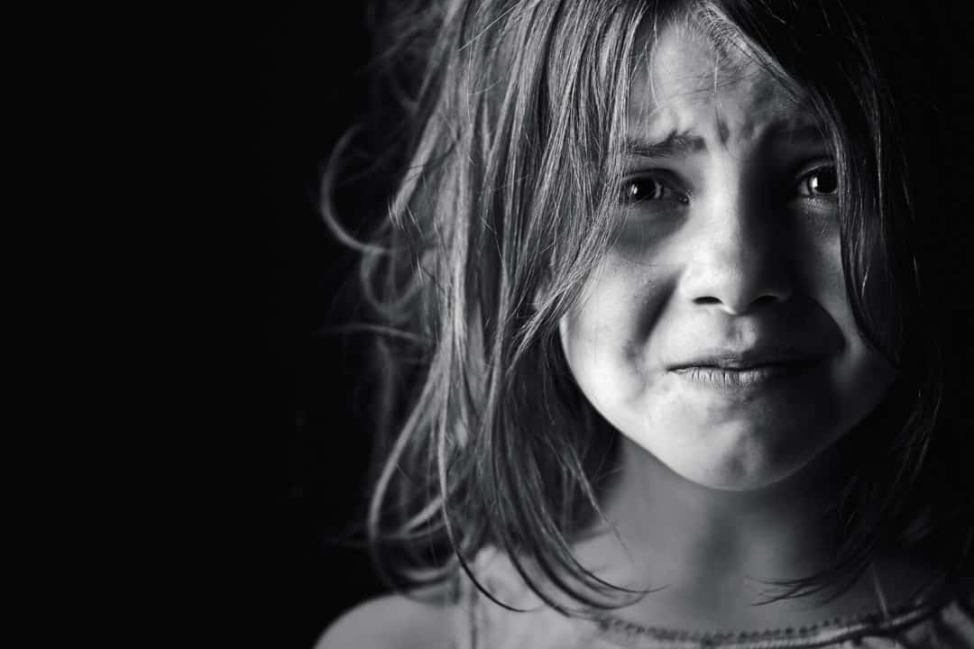 violence dans le couple enfant triste